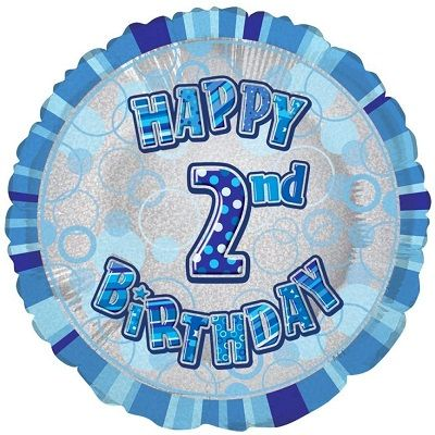 Balloon Happy 2ND Birthday