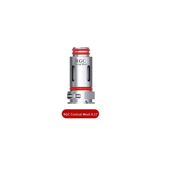 SMOK RPM80 RGC CONICAL MESH COIL - 5 PACK - 0.17 OHM SINGLE MESH
