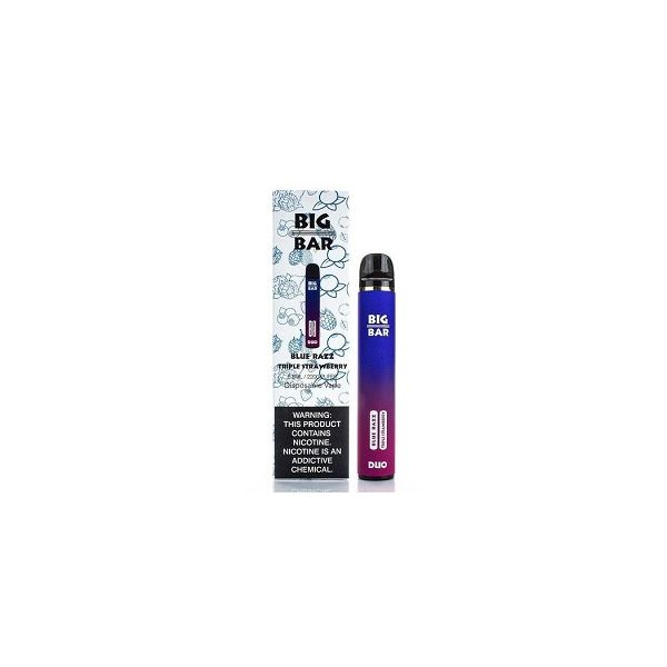 Big Bar DUO 5% Disposable 2 in 1 Device - 2200 Puffs
