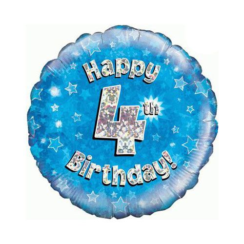 Balloon 4TH Birthday