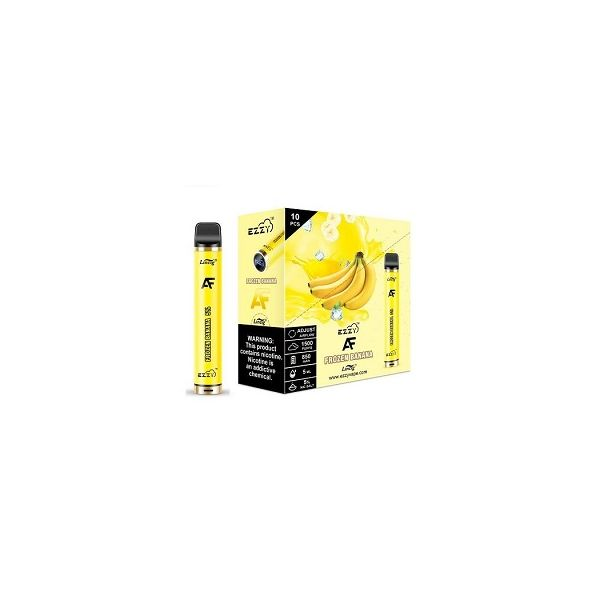 Ezzy AF 5% Disposable Device 1500 Puffs - 10 Pack