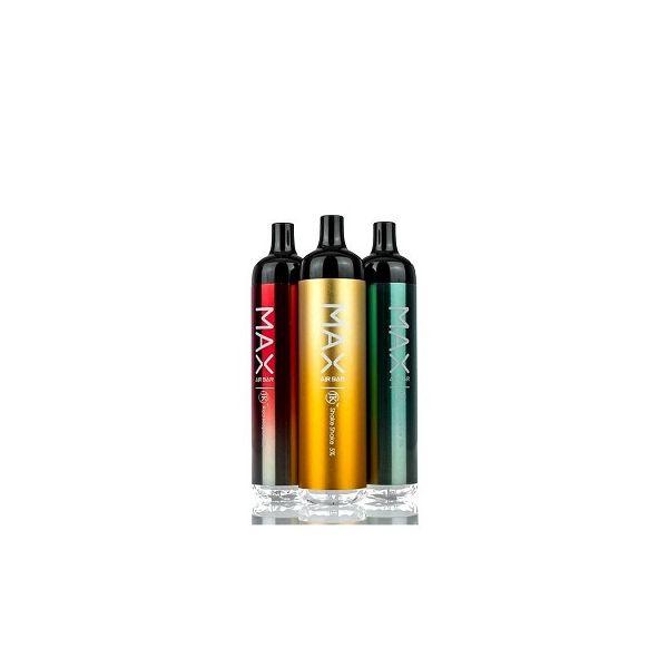 Air Bar Max 5% Disposable Decive - 2000 Puffs 10 Pack
