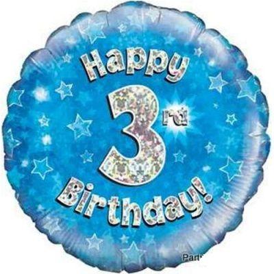 Balloon Happy 3RD Birthday
