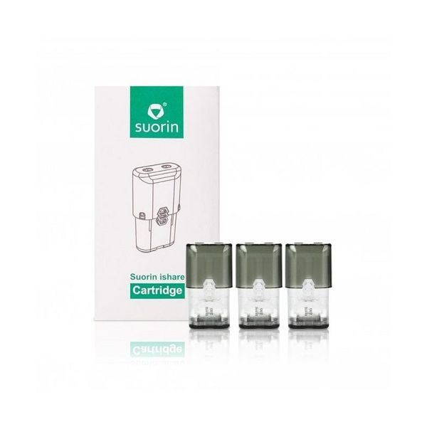 Suorin iShare Pods - Replacement Cartridge - 3 pack