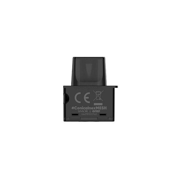 SMOK NEXMESH EMPTY REPLACEMENT POD CARTRIDGE - 3 PACK - 2 ML