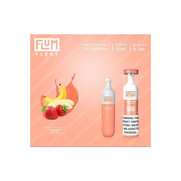 Flum FLOAT 5% Disposable Device - 3000 Puffs - 10 Pack