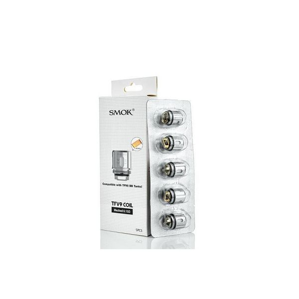 SMOK TFV9 REPLACEMENT COIL - 5 PACK - MESHED 0.15 OHM