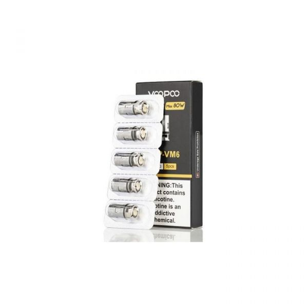 VooPoo PnP Replacement Coil - 5Pack